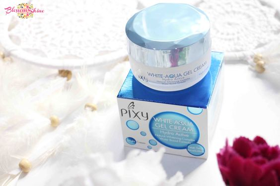 Pixy White-Aqua Gel Cream - Night Cream
