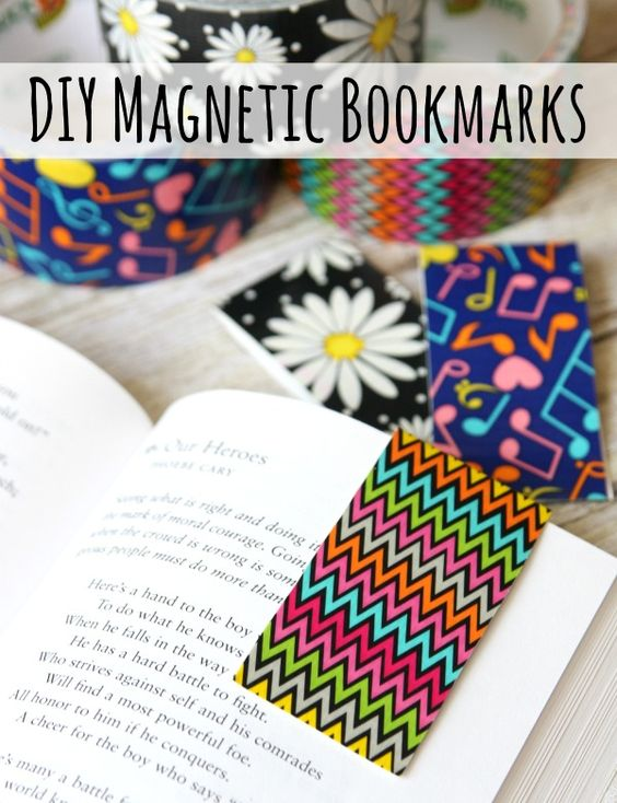 Duct tape makes everything look better duct tape for Duct tape bookmark ideas