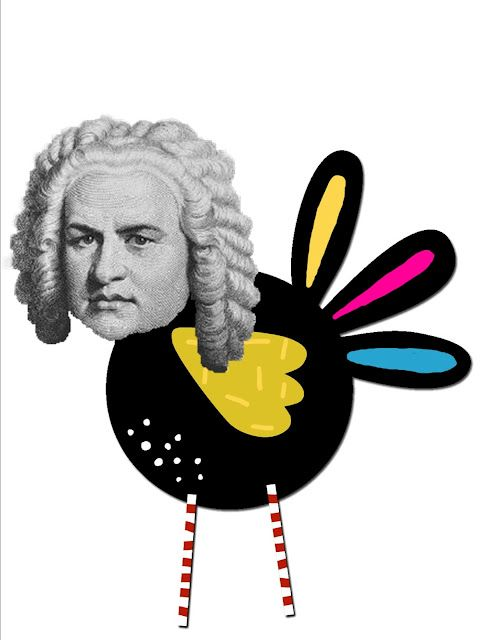 Made for Music Teachers: Welcome Bach Bulletin Board Set - too late for Sept., but could use after Christmas break