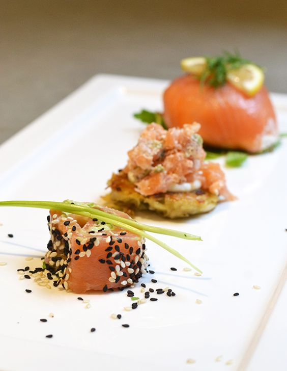 3 ways to eat smoked salmon this christmas ohmyfoodness recipes. Black Bedroom Furniture Sets. Home Design Ideas
