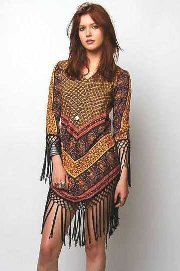 Fringe Hanky Hem Dress