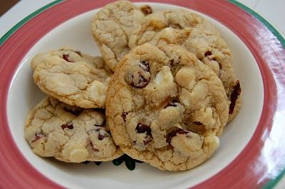 White Chocolate Cranberry Cookies: Cookies Candies, Cranberry Cookies, Cookies Lovin, Sweet Tooth, Cookie Recipes
