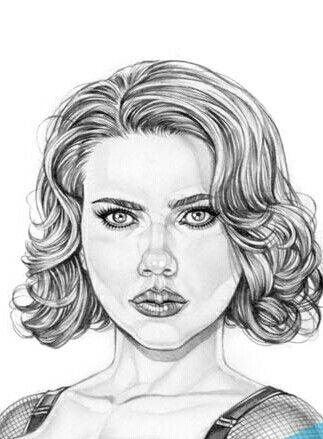 Pin De Theresa Mccurdy Em Drawing And Painting Desenho De Cabelo