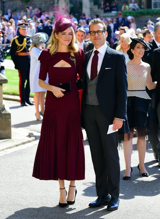 Here Are All The Celebrities Who Attended The Royal Wedding Royal Wedding Guests Outfits Guest Outfit Royal Wedding Outfits
