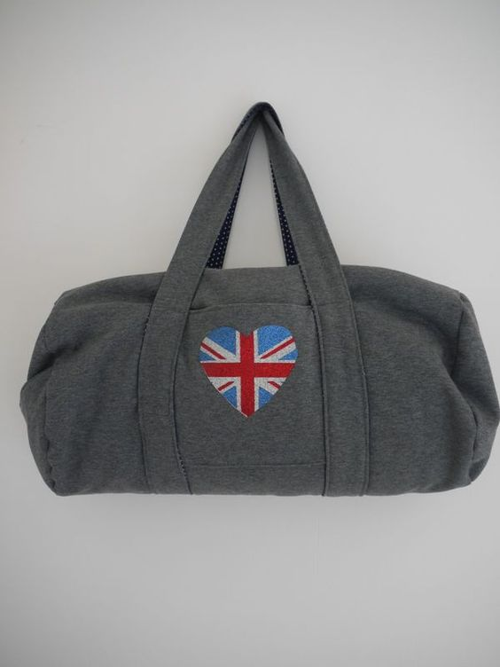 Tuto sac de sport id es couture pour moi pinterest - Tuto sac de sport ...