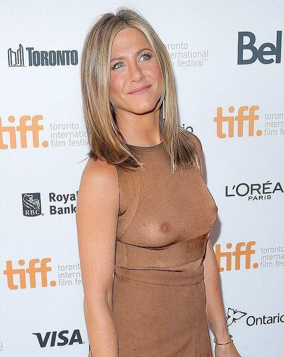 Jennifer Joanna Aniston 34C-23-35 at Toronto international film festival 2014. Real or X-ray or Fake?