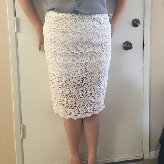 Host PickTall Sheer Lace Pencil Skirt Host Pick 4/21 Everything ...