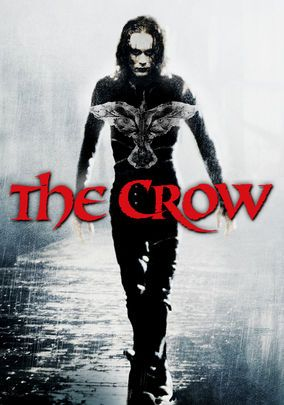 The Crow - featuring the late Brandon Lee, who died from tragic accident on set during filming (son of martial artist icon Bruce Lee)