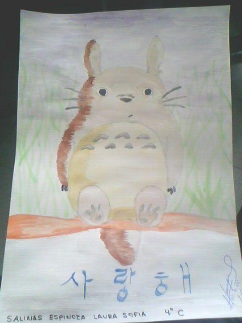 Dibujo Japones My Totoro