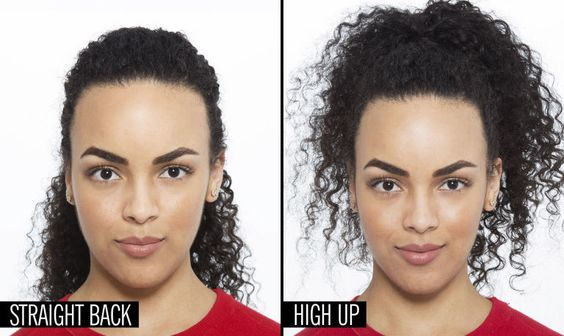 Ever noticed the difference your hair makes to the shape of your face? If  not…