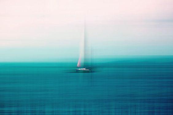 ocean Art Print by Claudia Drossert   Society6