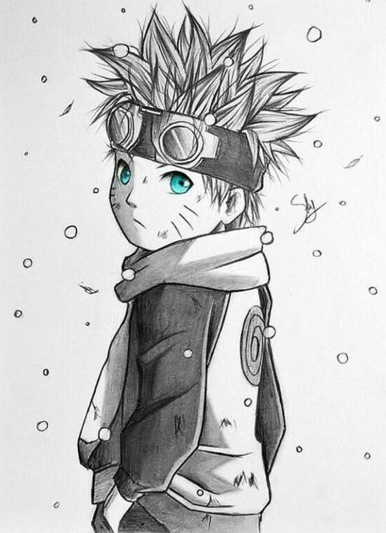 Video Desenhe Seus Personagens Favoritos Naruto Desenho Arte