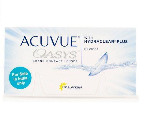 Acuvue Oasys Hd Plus 6 Lenses Box Johnson Johnson