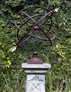 Large Armillary Sphere Garden Art in Many Colors finegardenproducts.com: