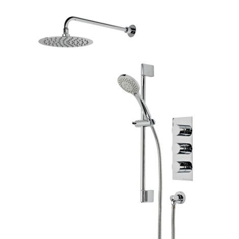 Insight concealed dual function shower system | Roper Rhodes