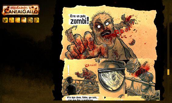 mi #comic de #zombies #free #gratis http://cantalgalloblog.blogspot.com.es/