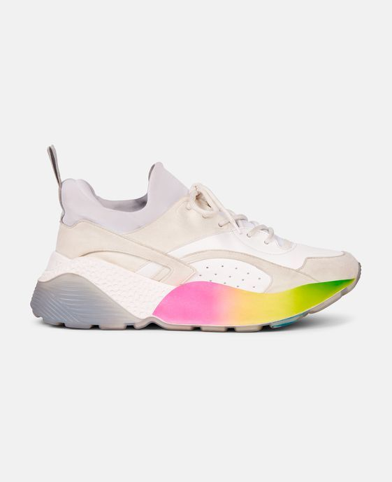 Shop the Eclypse Rainbow Sneakers by Stella Mccartney at the official online store. Discover all product information.