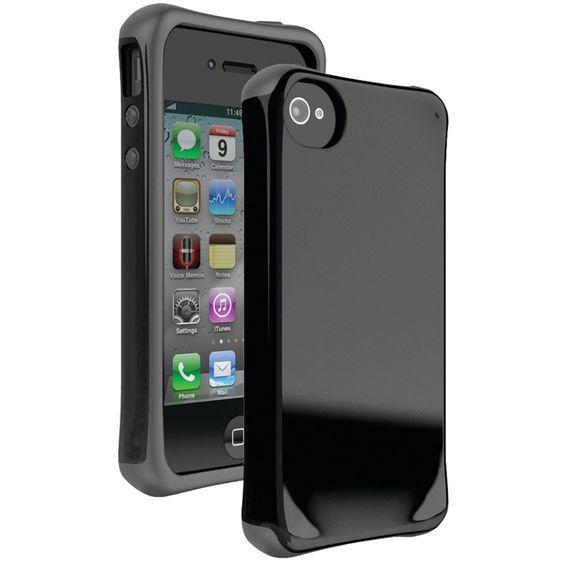 BALLISTIC AP1123-A025 iPhone(R) 4/4S Aspira(R) Series Case (Black/Charcoal)