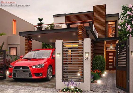 Fachada de casas sencillas y peque as fachadas de casas for Casas chiquitas y modernas