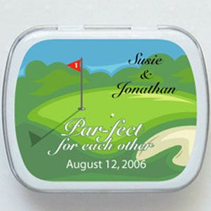 Golf Mint Tins Favors