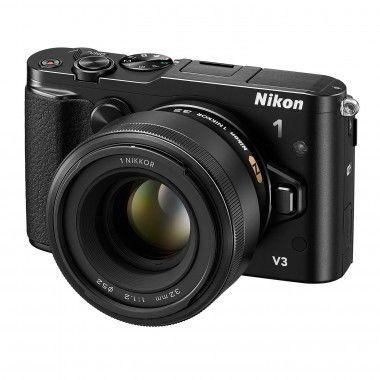 Nikon 1 V3 mit dem lichtstarken 1 NIKKOR 32 mm 1:1,2
