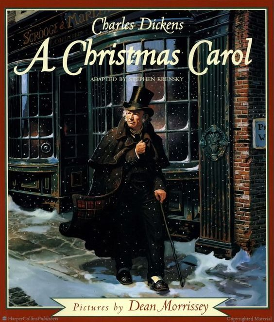 10 Images About A Christmas Carol On Pinterest: A Christmas Carol By Charles Dickens, Stephen Krensky