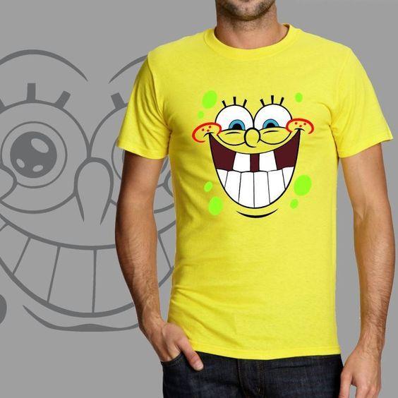 SPONGE BOB square pants 3 , t-shirt design, man & woman, sizes S-XXL, any color #Handmade #PersonalizedTee