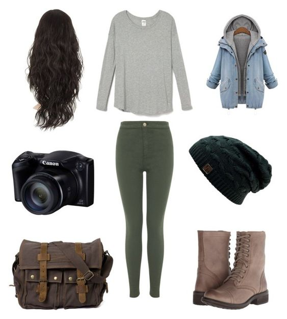 """photographer outfit"" by ashlynnthetaco ❤ liked on Polyvore featuring Miss Selfridge and Steve Madden"