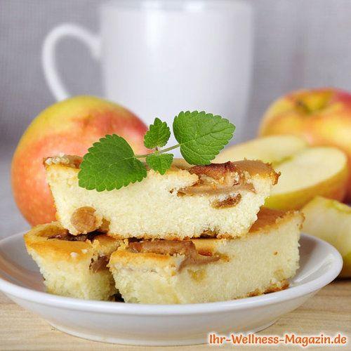Low Carb Apfel Quarkkuchen Ohne Boden Kasekuchen Rezept Ohne Zucker Quarkkuchen Ohne Boden Rezepte Quarkkuchen