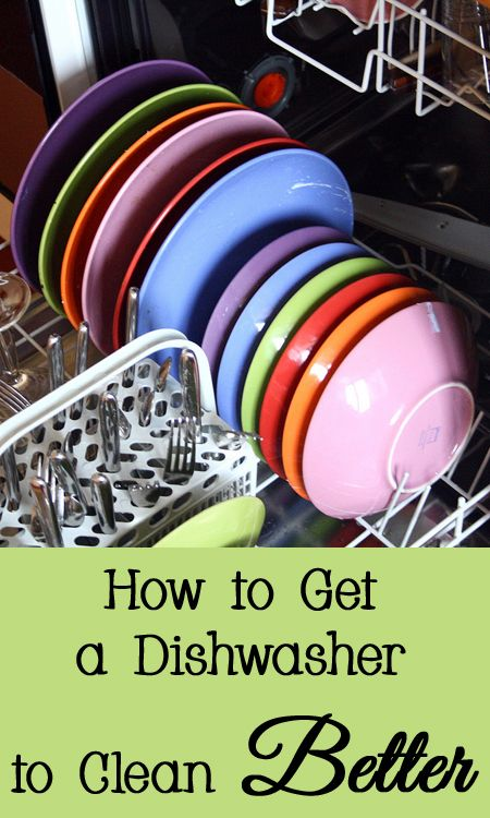 How to Get a Dishwasher to Clean Better