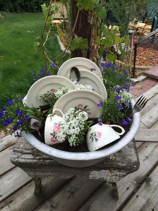 Creative Garden Decoration Tips With