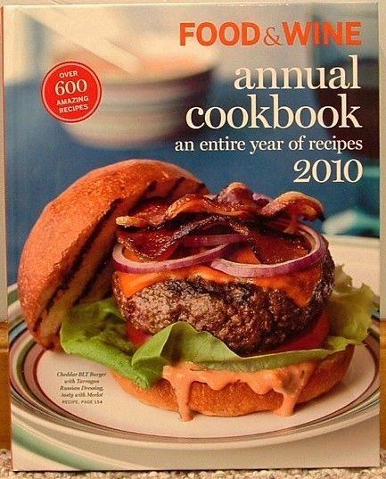 Food & Wine Annual Cookbook 2010 (2010, Hardcover)