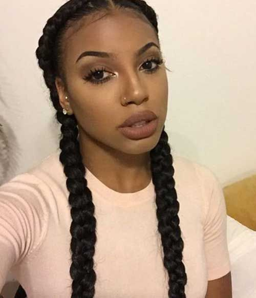 Image Result For Pigtail Braids Black Hair Braids With