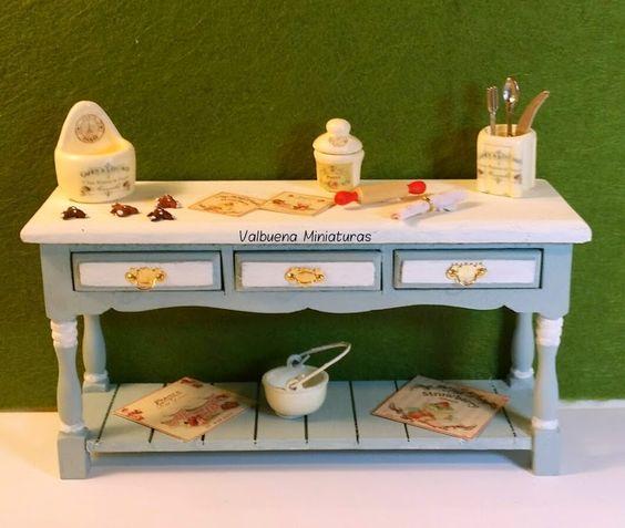 Miniaturas: Preparando dulces!!