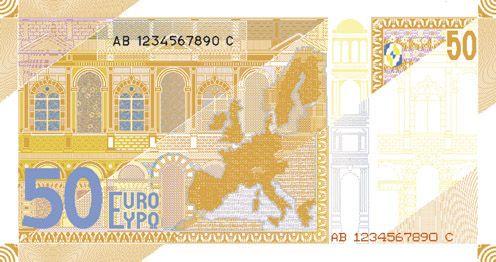 Euro Banknotes Designs Serie 2 Banknotes Design Bank Notes Euro