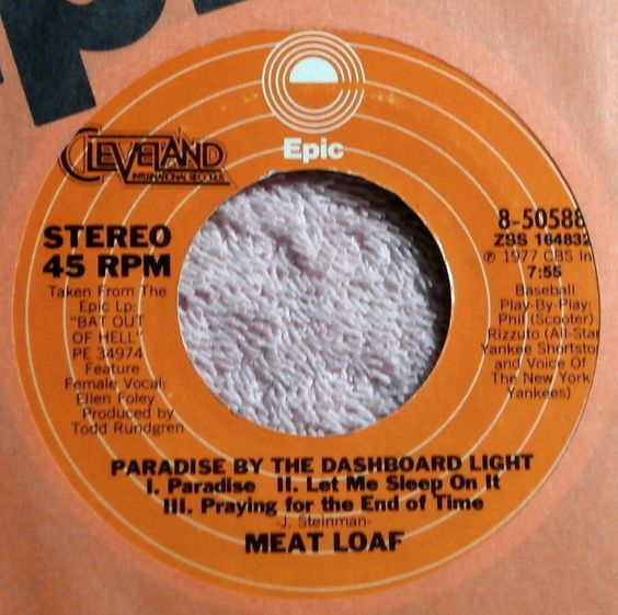 "meat loaf ""paradise by the dashboard light"""
