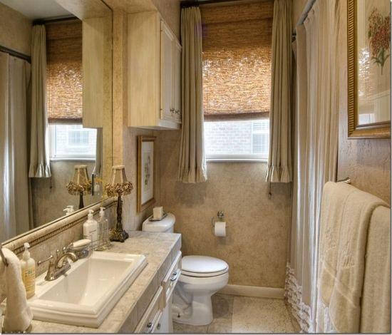 Kleines Bad Fenster Vorhang Ideen Mobel Dekoideen Mobelideen