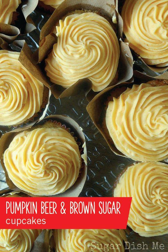 ... cupcakes cupcakes decorations alcohol cupcakes pumpkin beer cupcakes