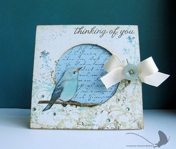 Thinking of You Bird by vanessa.1978, via Flickr