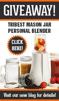 Tribest Personal Blender by Tribest - fits mason jars!