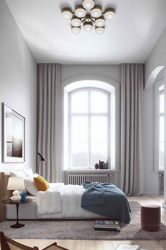 cortinas divinas quieta woonio de dormitorios colores cortinas dormitorios dormitorios grises dormitorios modernos pista de la cortina de techo