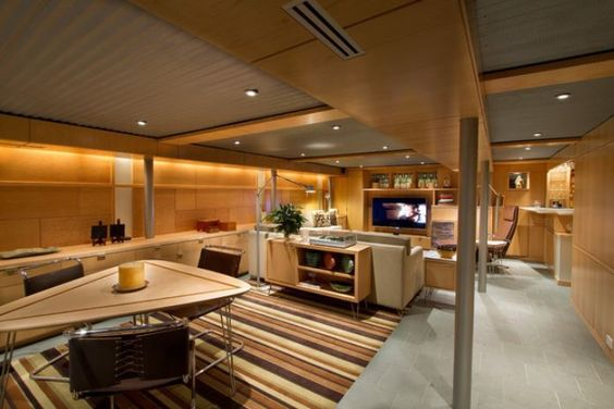 Top Modern Basement