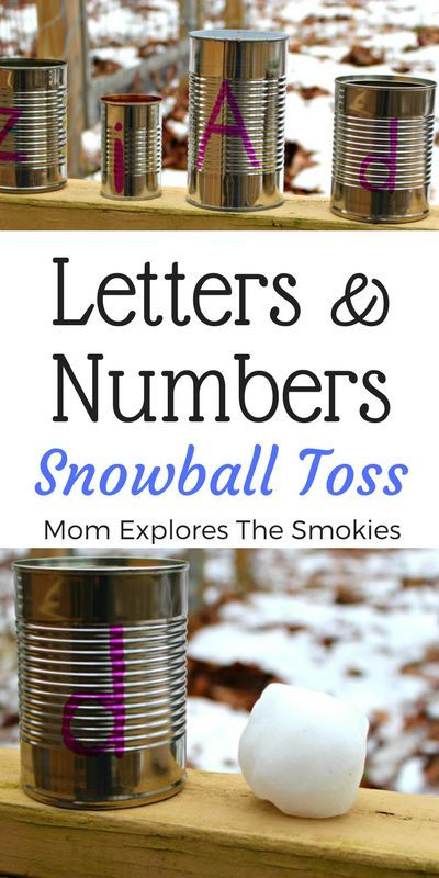 This fun snowball toss learning game for kids, is the perfect winter learning activity to teach and practice letters, numbers, and sight words. It also incorporates gross motor movement.