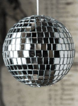 Mirror Ball Ornament 4in .99 (Save 33%)