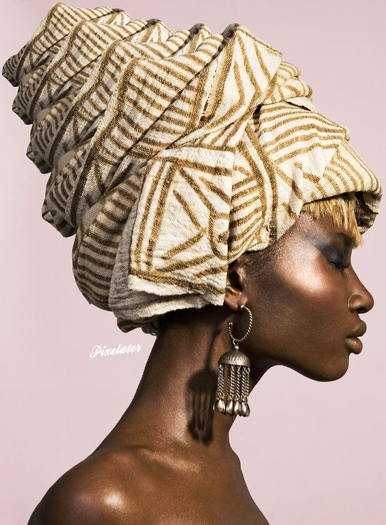 I love the way that turban wraps--wish I knew how to do it.