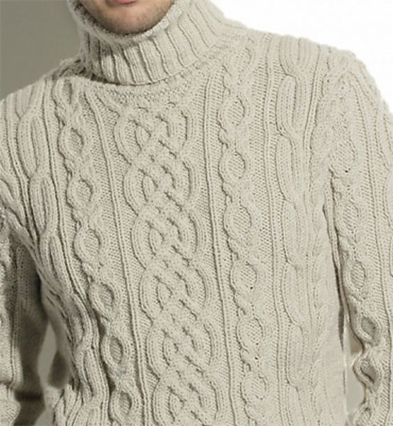 Ravelry: pull irlandais homme modèle 9 by Phildar Design Team