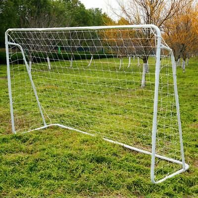 Details About Steel Frame 8 X 5 Portable Football Goal Soccer Net Quick Ball Sport Training In 2020 Soccer Goal Soccer Goal Post Portable Soccer Goals