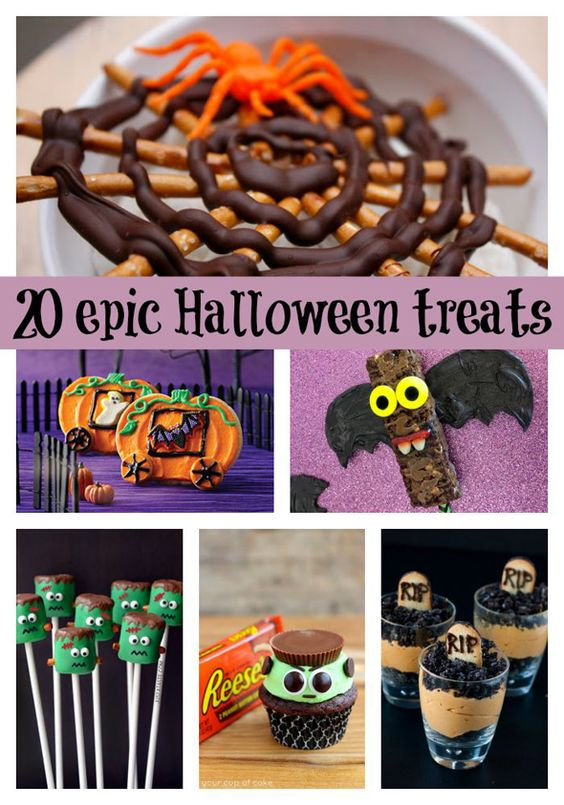 20 epic halloween themed desserts kid the o 39 jays and for Creative ideas for halloween treats