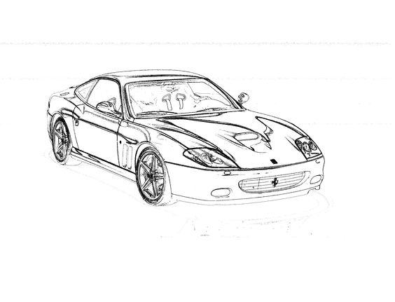 Otra forma de ver un Ferrari