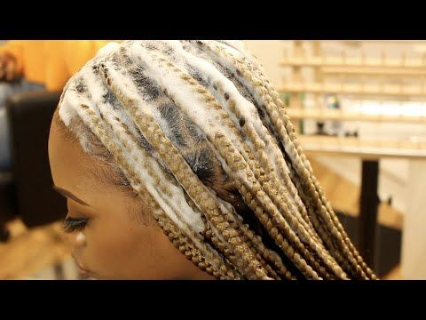 Large Lemonade Braids Tutorial Youtube Feed In Braids Hairstyles Lemonade Braids Hairstyles Natural Hair Styles